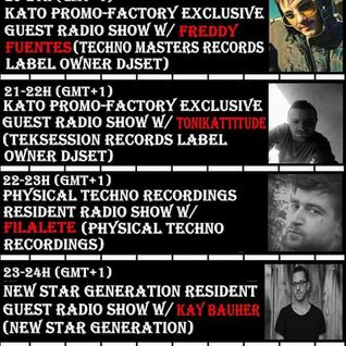 2016 05 03 23-24h KATO PrOmO-Factory Exclusive Guest Radio Show w/Kay Bauher (New Star Generation)