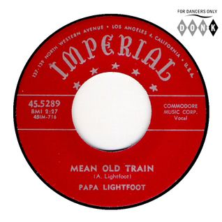 BLUES FOR DANCERS ♦ Mean old train