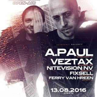A.Paul @ Abundance Open Air, Arena Varazdin, Croatia - 13.08.2016
