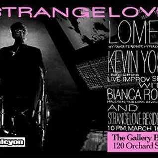 Kevin Yost - Live @ Strangelove 002, Gallery Bar, New York City (16-03-2012)