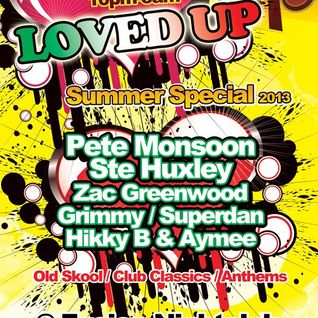Zac Greenwood - LOVED UP - Summer Special (June 2013)