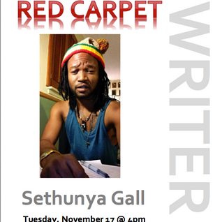 "Kick off for the ""Red Carpet"" segment with guest # 1 Sethunya"