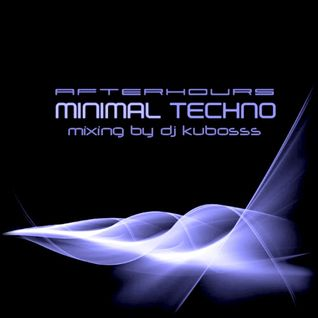Afterhours minimal techno