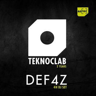 Def4z - Teknoclab 2 Years @ OsmOz 12 - 02 - 16