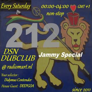 DSN DUBCLUB 212 Hr.2  Jammy  's Special @ www.radiomart.nl (2015.06.06)