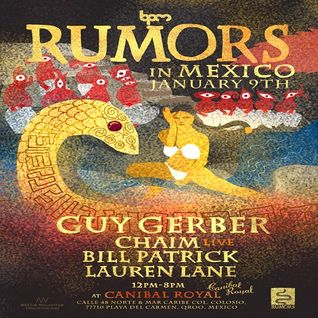 Bill Patrick  - Live At Rumors, Canibal Royal (The BPM Festival 2015, Mexico) - 09-Jan-2015
