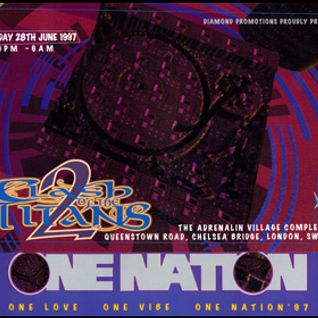 Brockie w. Skibadee & Stevie Hyper D @ One Nation Clash of the Titans (Part II) - 28.06.1997