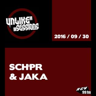 Unlike Sessions - 2016 sept 30 - Sch'pr / Jaka