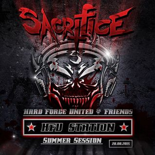 SACRIFICE LIVE AT H.F.U.-STATION MOSCOW 28.08.2015 SUMMER SESSION
