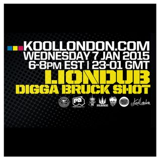 LIONDUB & DIGGA BRUCKSHOT - 1.07.15 - KOOLLONDON [JUNGLE DRUM & BASS]