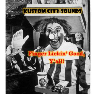 Kustom City Sounds - Finger Lickin' good, Y'all!