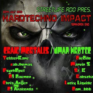 DJ Anakonda @ Streetlife Radio pres Hardtechno Impact 20.07.2013