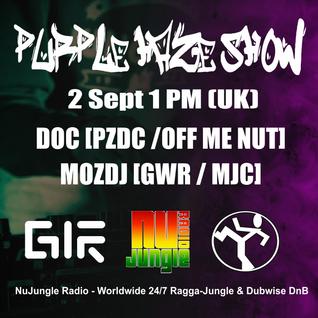 Purple Haze Show - MOZDJ @ NuJungle.Com (02.09.2016)