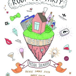 juja  @ ROOF TOP PARTY 2    05.07.2013