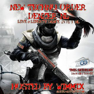 New Techno Order Hosted By WIMMIX Special Quest Denzer live @ Liberty dance 2013