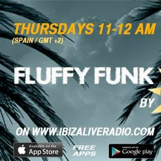 FLUFFY FUNK #054 hosted by george solar for IBIZA LIVE RADIO