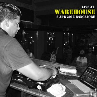 Iced Monkey Live @ Warehouse, Bangalore (05.04.2015)