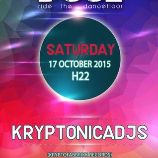 17 - 10 - 2015 Kryptonicadjs @ Dooz Party Tombino (MI)