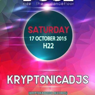 17 - 10 - 2015 Kryptonicadjs @ Dooz Party Tombino (MI)