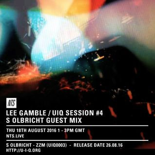 Lee Gamble w/ S. Olbricht - 18th August 2016