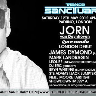 Trance Sanctuary Podcast 011 (with Jorn Van Deynhoven & James Dymond)