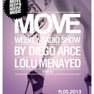 Lolu Menayed @ MOVE! Radio Show by Diego Arce