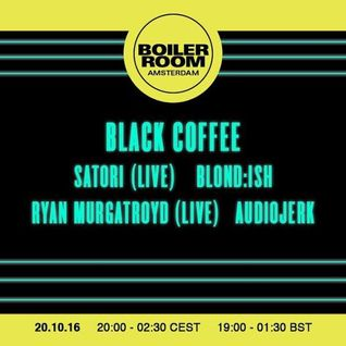 Black Coffee - live at Bridges For Music (Boiler Room, Amsterdam, ADE 2016) - 20-Oct-2016