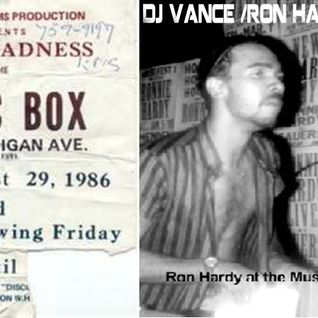Chicago Muzik Box Ron Hardy Tribute