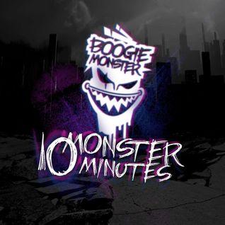 DJ BOOGIE AKA BOOGIEMONSTER - 10 MONSTER MINUTES VOL.4