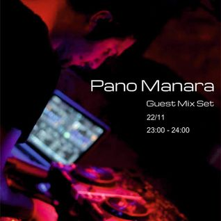 Pano Manara guest mix@Limeradio 22 November 2014