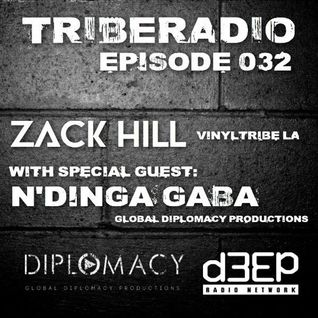 TribeRadio 032 - Zack Hill & N'Dinga Gaba