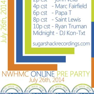 Ryan Truman - Live on Sugar Shack Radio's NWHMC Pre Party - July 26, 2014