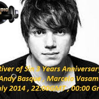 River of Sin 3 Years Anniversary - July 2014 - Andy Basque