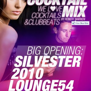 The Cocktail Mix - Vol. 1 // Every Friday @ Lounge54 Münster!