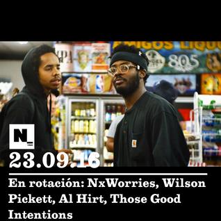 Nómada (24.09.2016): Wilson Pickett, NxWorries, Al Hirt, Those Good Intentions