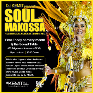 DJ Kemit presents Soul Makossa August 2015 Promo Mix
