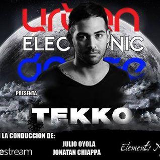 Urban Electronic Dance. Programa del viernes 15/5 en RadioiRedHD #SET #EnVivo de DJ Tekko.
