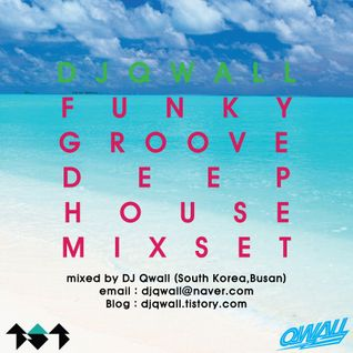 DJ QWALL FUNKY GROOVE DEEP HOUSE MIXSET (2014.AUG)