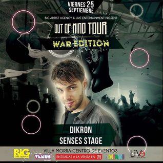 "dikroN Live at ""Out of Mind Tour"" @ Asuncion, Paraguay."