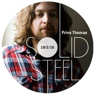 Solid Steel Radio Show 19/2/2016 Hour 1 - Prins Thomas