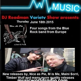 Dj Readman and DJ Dc Presents: Radio Variety Show. Nice As Pie, Maini Sorri, Timber Wulf and More