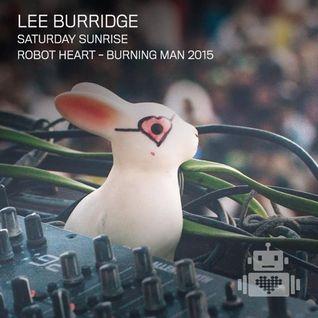 Lee Burridge - Live at Robot Heart, Burning Man, Nevada, USA (05-09-2015)