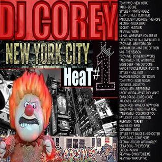 DJ COREY MR MEGAMIX - NYC HEAT - 1