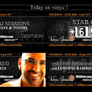 "dj Tonski at Paul Van Dyk's ""Vonyc Sessions"" 02.06.2008"