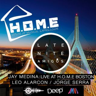 Jay Medina LIVE @ H.O.M.E Boston.