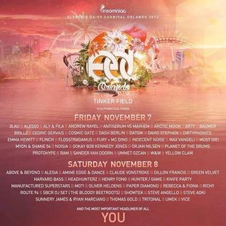 3LAU  -  Live At Electric Daisy Carnival (EDC Orlando)  - 07-Nov-2014