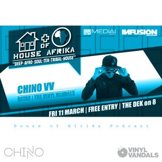 Chino Vv - House of Afrika Dubai Podcast