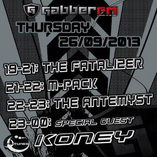 The Antemyst - Platinum Impact 53 (Gabber.fm) 26-09-2013