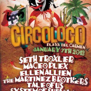 Maceo Plex, Martinez Brothers vs Seth Troxler - Live @ Coco Maya, BPM Festival (07-01-2013)