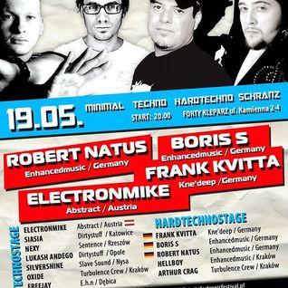Lukash Andego - live @ Electronic Festival 19.05.2012, Forty Kleparz - Kraków